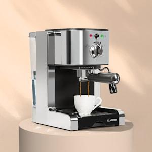 Passionata 20 eszpresszó kávéfőző, 20 bar, kapucsínó, tejhab, ezüst színű