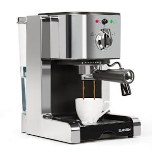 Passionata 20 machine à expresso 20 bars capuccino mousse de lait gris argent