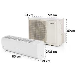 Windwaker Supreme 9000 Inverter Climatiseur split 9000 BTU 2,6/2,8 kW