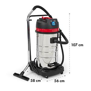 Reinraum Centaur Aspirateur sec & humide 100 litres 2400 watts