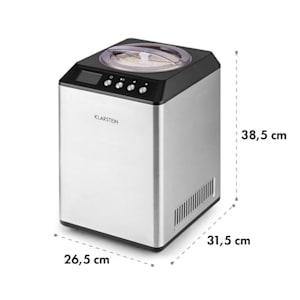 VANILLY SKY FAMILY, машина за сладолед замразен йогурт 250W 2.5л, сребриста