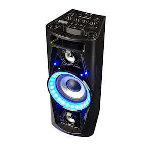 UltraSonic Pulse V6-40 Audiosystem Lautsprecher Akku BT USB MP3 AUX UKW Guitar LED Mikrofon