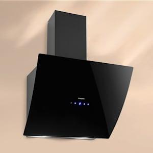 Klarstein Annabelle 60 afzuigkap glas 650 m3/h touch-armatuur zwart