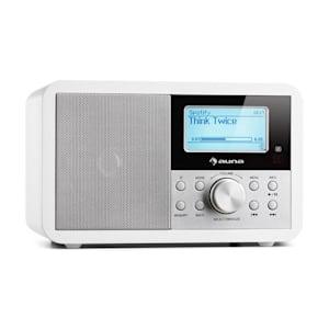 Worldwide Mini Internet Radio WLAN Lettore di Rete USB MP3 AUX Tuner VHF