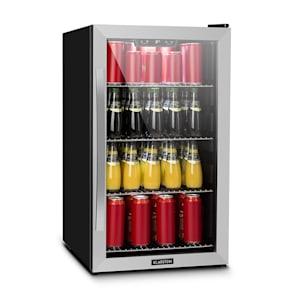 Beersafe 4XL, chladnička, na nápoje, 124l, 0-10 ° C, sklo, A +, nerezová ocel