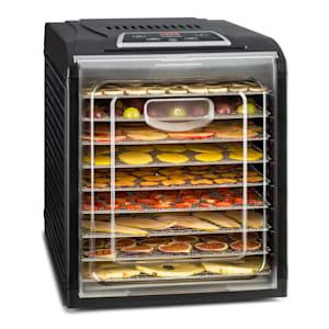 Fruit Jerky 9, сушилна за плодове, таймер, 9 рафта, 600-700W, черен
