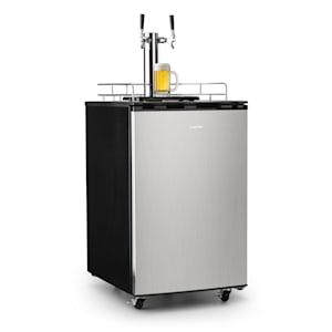 Klarstein Big Spender Double ölfat-kylskåp komplettset fat upp till 50l
