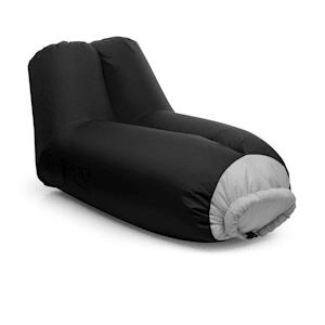 Airlounge, sjedalo na napuhavanje, 90x80x150cm, ruksak, mogućnost pranja, poliester, crna