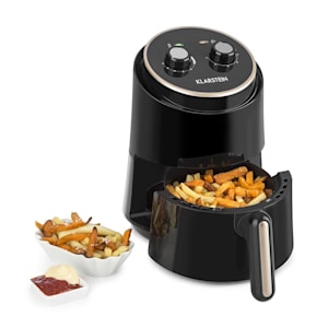 Well Air Fry Air Fryer 1230W Overheat Protection 1.5L black