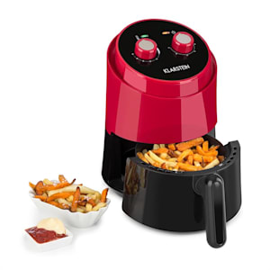 Well Air Fry Air Fryer 1230W Overheat Protection 1.5L red