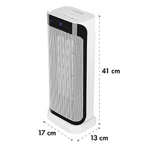 CHAVAL hősugárzó, 2000 W, termosztát, időzítő, távirányító, fehér