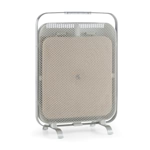 HeatPal Marble Infrarot-Heizung 1300W 30 m² Wärmespeicher Marmor Aluminium