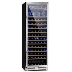 Vinovilla Grande 165 Frigorífico de vinho Uno incorporado | 425 litros | 165 garrafas de vinho | Anti-vibração | Painel de controlo tátil | Utilização: livre ou como unidade embutida / inferior