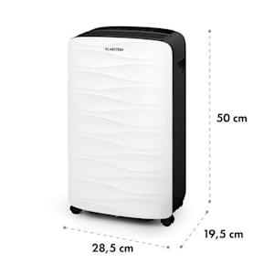 DryFy 16, odvlhčovač vzduchu, kompresia, 16 l/24 h, časovač, 255 W, bielo-sivý