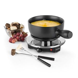 Sirloin Appareil à fondue & raclette cuve céramique 1200W - noir
