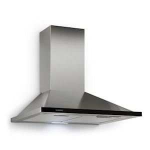 Galina hotte aspirante extraction 60 cm 350 m³/h LED inox verre acrylique