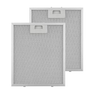 Filtre à graisse en aluminium 27,1 x 31,8 cm Filtre de rechange
