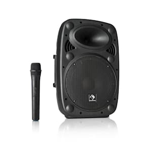 "Streetstar 10 Mobile PA System 10"" (25.5 cm) Woofer UHF Mic 400 Watts Max."