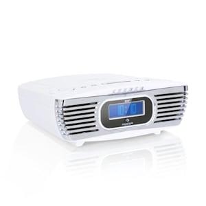 Dreamee DAB + Clock Radio CD Player DAB + / FM CD-R / RW / MP3 AUX Retro White