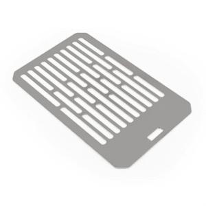 Klarstein Parrilla Accesorio para Steakreaktor 2.0 Acero inoxidable macizo de alta calidad