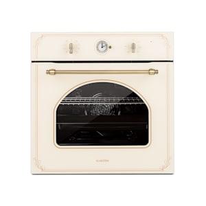 Victoria, ugradbena električna pećnica, retro izgled, 9 funkcija, 50 - 250 ° C, bjelokosst
