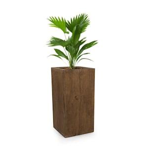 Timberflor bloempot 40 x 80 x 40 cm GVK in-/outdoor bruin