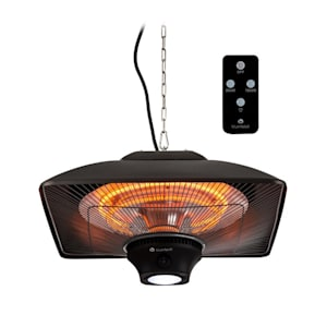 Heat Square Infrared Heater 1000 / 2000W Carbon IP34 LED