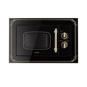 Victoria 20 ingebouwde magnetron, 20 l, 800 W, grill: 1000 W, zwart