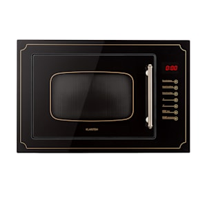 Klarstein Victoria 25 inbouw magnetron 25 l, 900W, grill: 1000W zwart