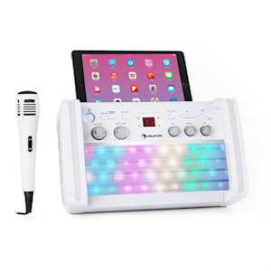 DiscoFever 2.0 Karaokeanlage, BT, multicolor Disco-LED, CD-/CD+G-Player