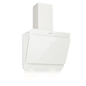 Aurica 60, páraelszívó, 60 cm, 610 m³/óra, LED, Touch, üveg, fehér