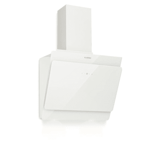 Aurica 60, kuhinjska napa, 60 cm, 610 m³/h, LED, na dotik, steklo, bela
