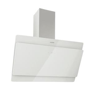 Aurica 90 Dunstabzugshaube 90cm Abluft: 610 m³/h LED Touch Glas weiß
