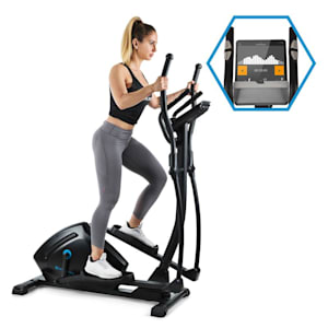 Helix Track Cross Trainer Bluetooth App 18kg Schwungmasse
