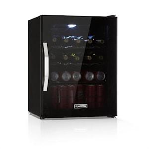 Beersafe XL Onyx, hladnjak, A++, 60 l, LED, metalne police, staklena vrata