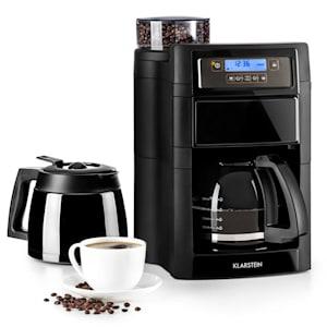 Aromatica II Duo, kávovar, integrovaný mlynček, 1.25 l, čierny