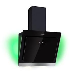 Aurora Eco 60 okap kuchenny wyciąg 550 m³/h wyświetlacz LED czarny