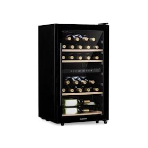 Barossa 29D Cave à vin 2 zones 34 bouteilles porte vitrée classe A