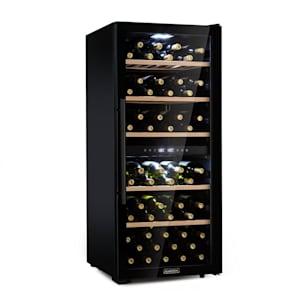 Barossa 102D Wine Cooler 2 Zones 102 Bottles Touch LED Black