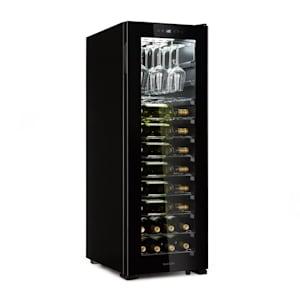 Bellevin 62, vinotéka, 56 lahví, 5 - 20 °C, třída energetické účinnosti A, černá