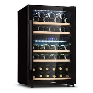 Barossa 40 Duo -viinijääkaappi 2 aluetta 41 pulloa lasiovi kosketuskäyttö LED