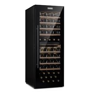 Klarstein Barossa 77 Duo Wine Fridge 2 Zones 191 L 77 Bottles Touch LED Black
