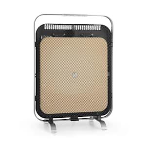 Radiateur infrarouge Klarstein HeatPal Marble Blackline 1300W marbre aluminium