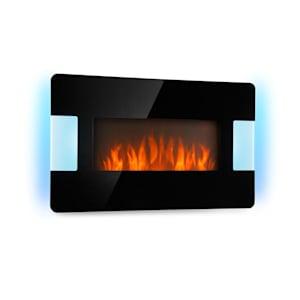 Belfort Light & Fire Cheminée électrique Chauffage 1000 / 2000W - noire