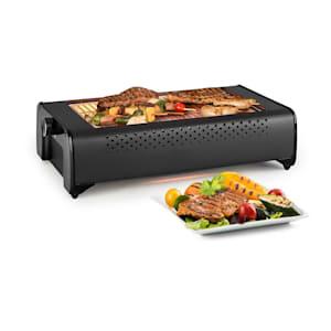 Infragill, grill elektryczny na podczerwień, 1500 W, słabo dymiący, czarny