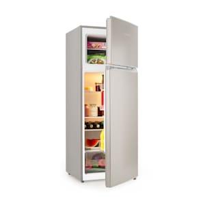 Big Daddy L Combiné réfrigérateur congélateur 207L Classe A++ - inox
