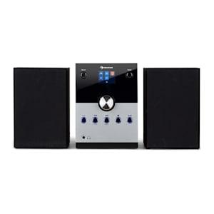 MC-30 DAB Impianto Stereo DAB+ Bluetooth Telecomando argento 20 W max