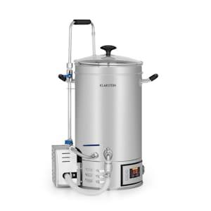 Brauheld käymiskattila 15 litraa 30-140 °C sekoituspumppu ruostumatonta terästä