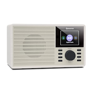 "DR-160 Digitalradio   Bluetooth   DAB+/FM-Radio   MP3-Player via USB-Port   AUX-In   2.4"" TFT-Display"