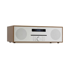 Silver Star CD-FM 2x20W max. Slot-In CD-Player UKW BT Alu braun